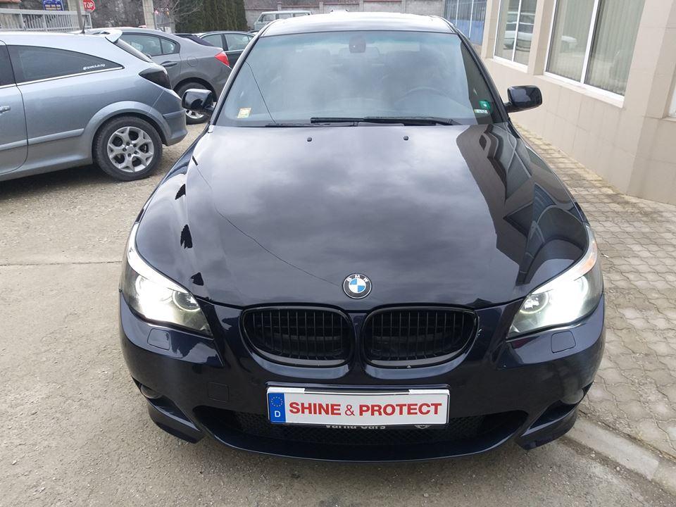 BMW 5 E60 Sonax Polymer Netshield