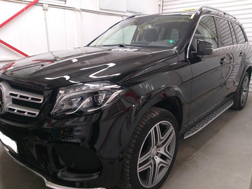 Mercedes GLS Sonax CC36 Керамично Покритие