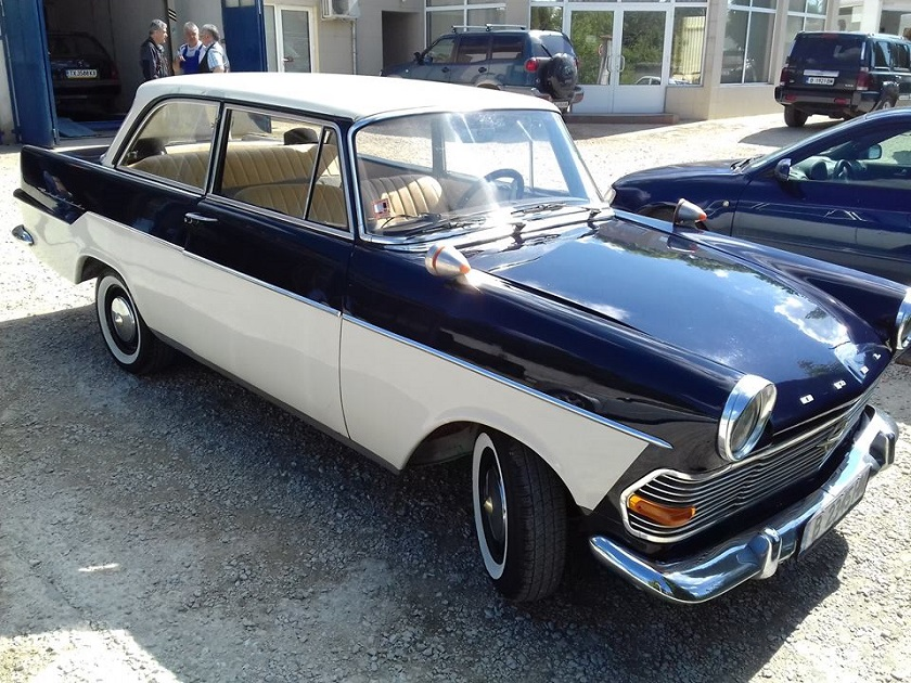 Opel Record 1962г Цялостно полиране